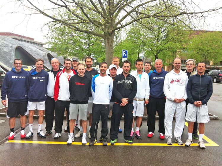 leiter und teilnehmer tennislehrerkurs 2013
